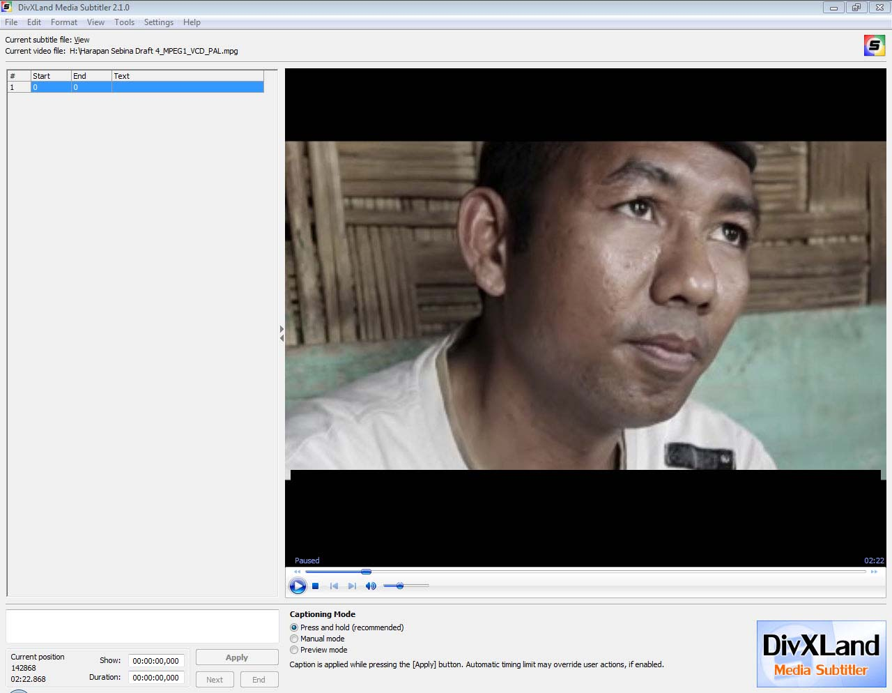 FOR YOU, WHO WANT TO BE A SUBTITLER, YOU CAN USE THESE SOFTWARE